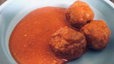 Fotorecept: Mäsové guľky (bez ryže) v paradajkovej omáčke Potatoes, Vegetables, Cooking, Food, Green Papaya Salad, Cucina, Potato, Veggies, Kochen