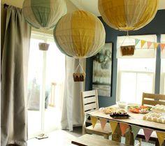 Hot Air Balloon Baby Shower | Disney Baby