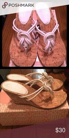 Gianni Bini Shoes NWT New with tags! Great for spring goes with almost everything! Gianni Bini Shoes Wedges