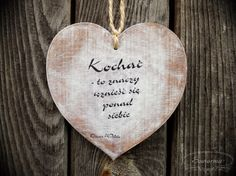 Heart with love-related quote, cut from plywood. Wooden Hearts, Plywood, Motto, Quotes, Diy, Hardwood Plywood, Quotations, Bricolage, Do It Yourself