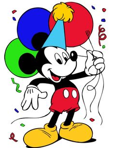 Images Of Mickey Mouse Birthdays