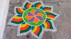 Easy Rangoli Designs 5