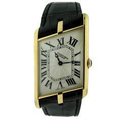 Cartier, Paris Ltd Asymmetric Tank Wristwatch Cartier Santos, Popular Watches, Watches For Men, Trendy Watches, Cartier Panthere, Art Deco Watch, Tank Watch, Cartier Tank, Beautiful Watches