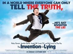 The Invention of Lying with Ricky Gervais and Jennifer Garner. 2009