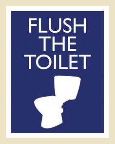 Items similar to Printable Flush the Toilet Bathroom Artwork on Etsy Kids Bathroom Art, Bathroom Prints, Bathroom Ideas, Laundry Room Printables, Poster Background Design, Minnesota Home, Bath Art, Health Activities, Custom Invitations