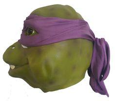 Donatello Teenage Mutant Ninja Turtle Movie Mask - Dragons Den Fancy Dress Limited