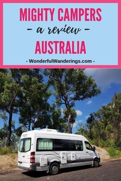 Planning a road trip in Australia in a campervan? Read this Mighty Campers revie… - Van Life Campervan Australia, Roadtrip Australia, Visit Australia, Packing Tips For Travel, Travel Advice, Travel Ideas, Travel Inspiration, Best Travel Gifts, Journey Quotes