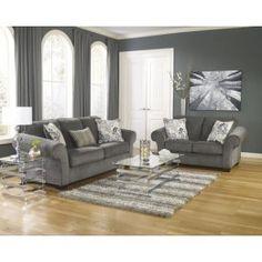 Makonnen - Charcoal Living Room