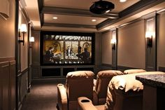 Home Theater Design Layouts | with Robert Taylor of Taylor Build to complete their home theater ...