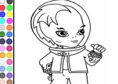Colorear Monster High.com - Juego: Colorear Baby Gil Webber - Jugar Gratis Online