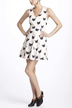 Cat Right-Back-Atcha Dress @Janet Watson