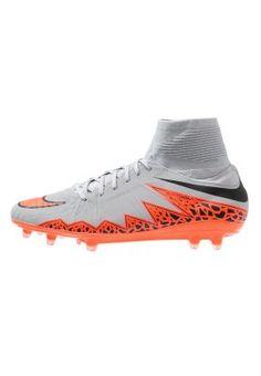 HYPERVENOM PHATAL II FG - Scarpe da calcio con tacchetti - wolf grey/total orange/black