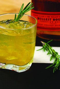 A little sweet, a little tart with a savory touch of rosemary. We think you'll like this cocktail.
