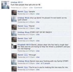 Facebook Spell Checker vs. Facebook Idiots