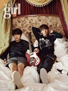 Sungyeol and Woohyun for Vogue Girl