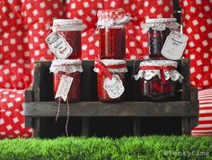 Homemade Jam - great wrapping