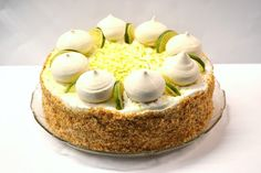 Bolo de Lima e Côco || Lime-Coconut Cake ~ Sabores da Alma