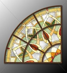 Фреска #115646096 STAINED GLASS PATTERN