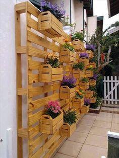 Suchen Sie nach kreativen Ideen für Gartenmöbel aus Paletten?