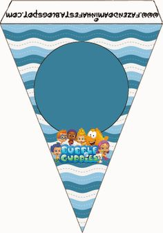 Bubble Guppies Free Party Printables.