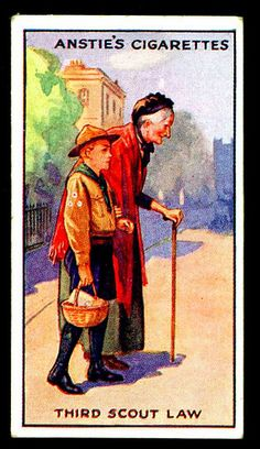 Cigarette Card - Scout Series #11 | Flickr - Photo Sharing!