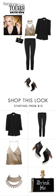 """Aperitivo con le amiche"" by piccolauby ❤ liked on Polyvore featuring Helmut Lang, Dsquared2, Yves Saint Laurent, Barbara Casasola and Madewell"