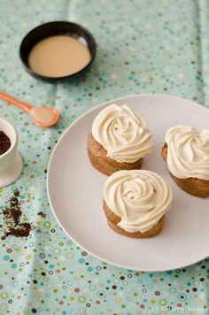 Coffee Chiffonlets with Dulce de Leche Whipped Cream