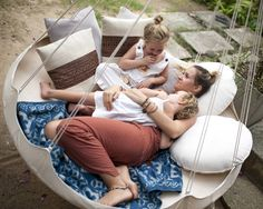 TiiPii hammock or swing seat can hang inside or outside, on a patio, terrace or garden. TiiPii Hammock fits adults or children and weighs only Indoor Hammock Bed, Portable Hammock, Hanging Hammock, Hammock Chair, Hammock Stand, Hanging Chair, Garden Hammock, Daybed Design