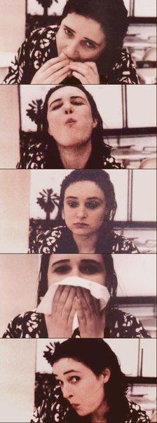 Siouxsie looks stunning with or without make-up.