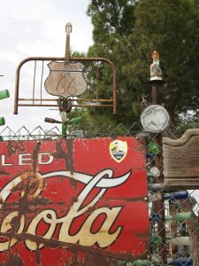 Old coke sign Route 66