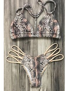 GET $50 NOW | Join Zaful: Get YOUR $50 NOW!http://m.zaful.com/snake-print-halter-bikini-set-p_174500.html?seid=1812526zf174500