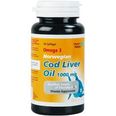 Cod Liver Oil 1000mg Omega 3 Norwegiam Cod Liver Oil Halal Supplements 240 Softgels ** See this great product.