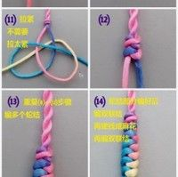Chinese knot art - the snake knot bracelet detailed tutorial! More