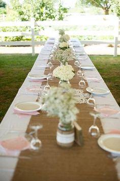 rustic wedding decorations - Szukaj w Google