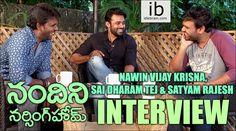 Satyam Rajesh interviews Nawin Vijay Krishna & Sai Dharam Tej - Nandini Nursing Home Funny interview - idlebrain.com http://www.idlebrain.com/movietape/nandininursinghome-content.html