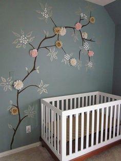 Baum mit Blüten