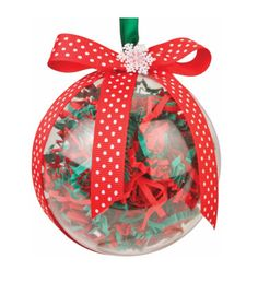 Nicole™ Crafts Paper Shred Bubble Ornament #ornaments #craft #christmas