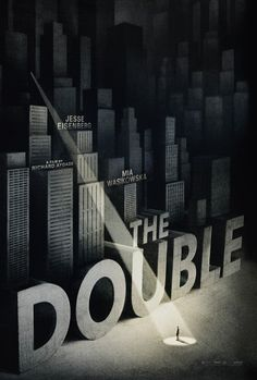 Empire Design also created an illustrated poster for The Double, inspired by one promoting Hitchcock thriller The 39 Steps