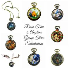 Resin Time is Anytime - Artist Submissions Group Three http://resincrafts.blogspot.ca/