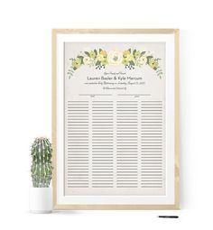 Quaker Marriage Certificate Wedding Certificate by MDBWeddings