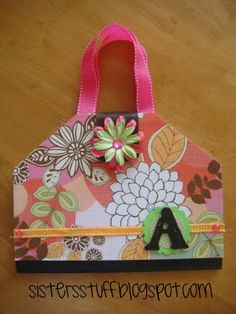 notebook purses--we made these at my daughter's late-over birthday party.