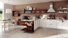 Cucina CU06_0003 Cucina componibile moderna, composizione lineare ...