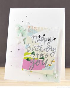 Happy Birthday to You Card by pixnglue at @studio_calico