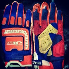 Vintage mx gloves by jt racing usa