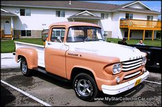 '58 Dodge pickup at a show last summer. Click on the picture for a look at the story behind this one.