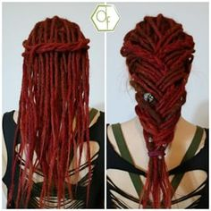 Dreadlocks Updo, Crochet Dreadlocks, Synthetic Dreadlocks, Dreadlock Hairstyles, Braided Hairstyles, Beautiful Dreadlocks, Dreads Styles, Creative Hairstyles, Hair Videos