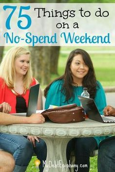 75 Things to do on a No Spend Weekend. Make your weekends more exciting by finding something free to do.