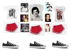 """that one direction sh*t for us!!!"" by annalee-111201 ❤ liked on Polyvore featuring MITU, Converse and Payne"