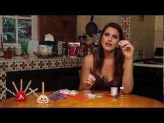 Como hacer una Pulsera de Imperdibles y Tubos de Tela.wmv.flv - YouTube