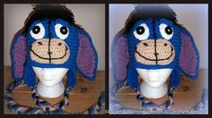 3092f9a7f83 Now you can make your own adorable Eeyore Inspired Ear Flap Beanie from my  very own pattern.